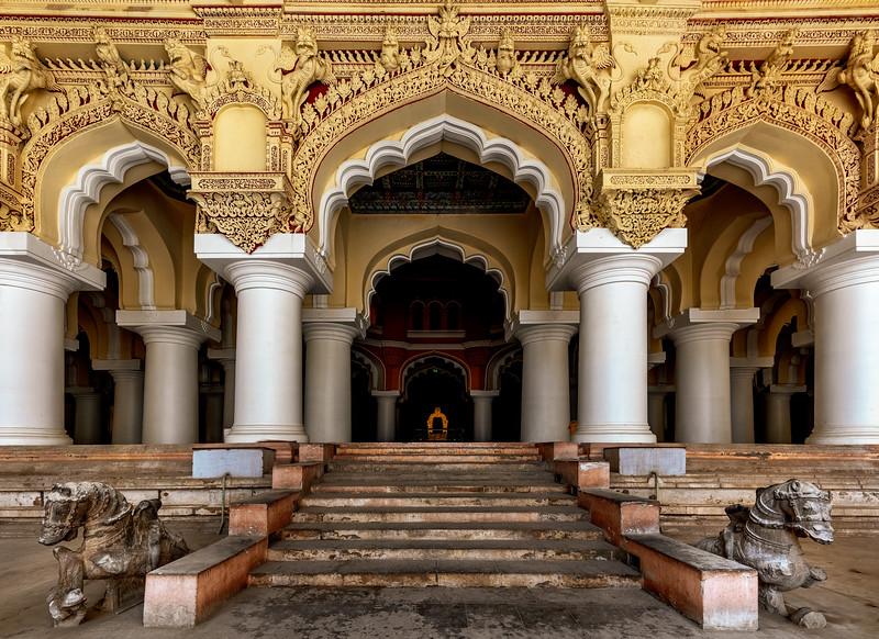 Throne of Thirumalai Nayakar