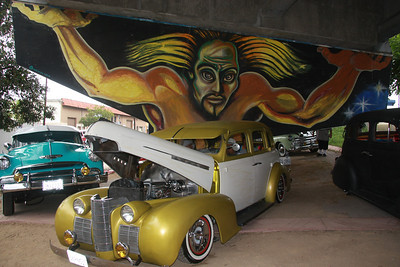 Low Riders every April at Chicano Park San Diego