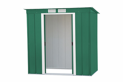 Eco Pent 6x4 Green / Off white trim