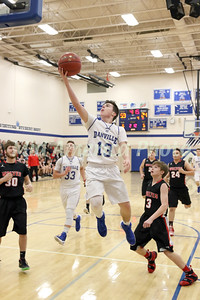 Boys Basketball, Winfield-Mt. Union vs Danville 2/16/2017