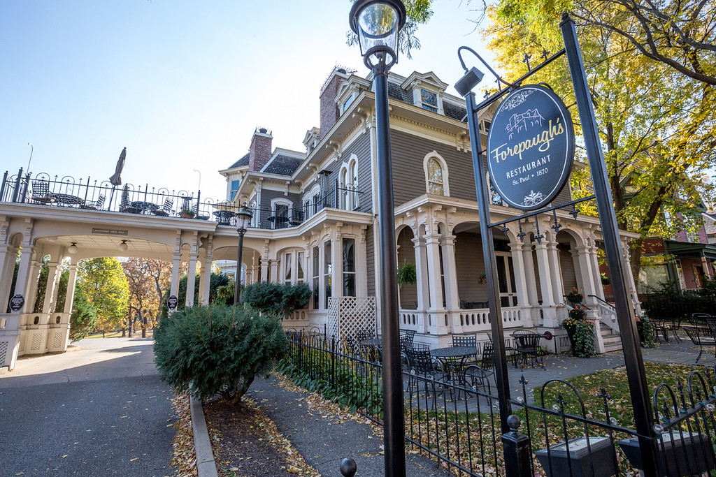 . At Forepaugh\'s Restaurant in Irvine Park, the original homeowner�s maid Molly -- who hanged herself after it was discovered that she and the master of the home were having an affair -- can be heard or seen walking. (Pioneer Press: Andy Rathbun)