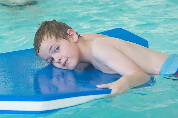 Pret in 't zwembad, 1ste lj
