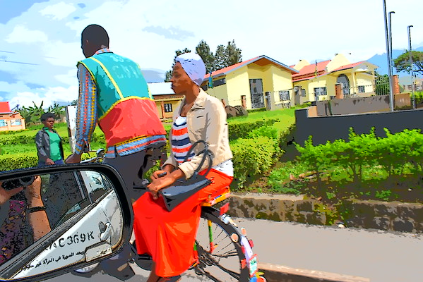#ThisisRwanda ..rwandan bicycles
