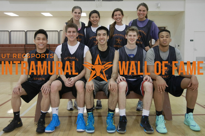 BASKETBALL Coed A Champion  We win, you lose  R1: Tu Pham, Parker Lutz, Luke Monteith, Connor Lewis, Frank Iriele R2: Kirby McDaniel, Xinying Chuong, Meghan Moreland, Amanda Jungwirth Not Pictured: Rachel Wong