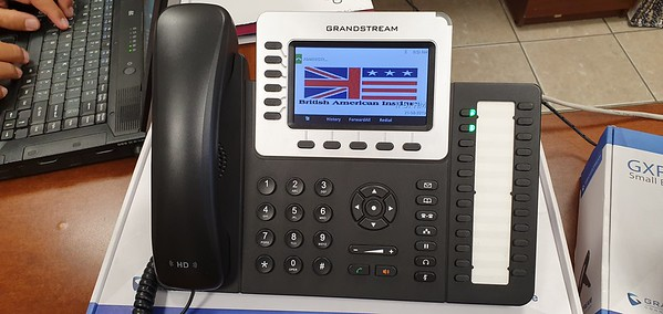 New Voip phone system at a TJ school
