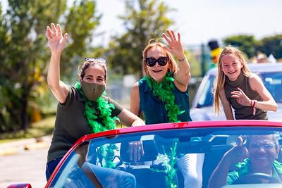 St. Patrick's Day Caravan