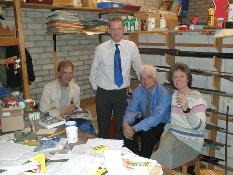 Thorncliffe dept staff - John, Steve, Phil and Elizabeth. Missing Chris, Angela and Kath.