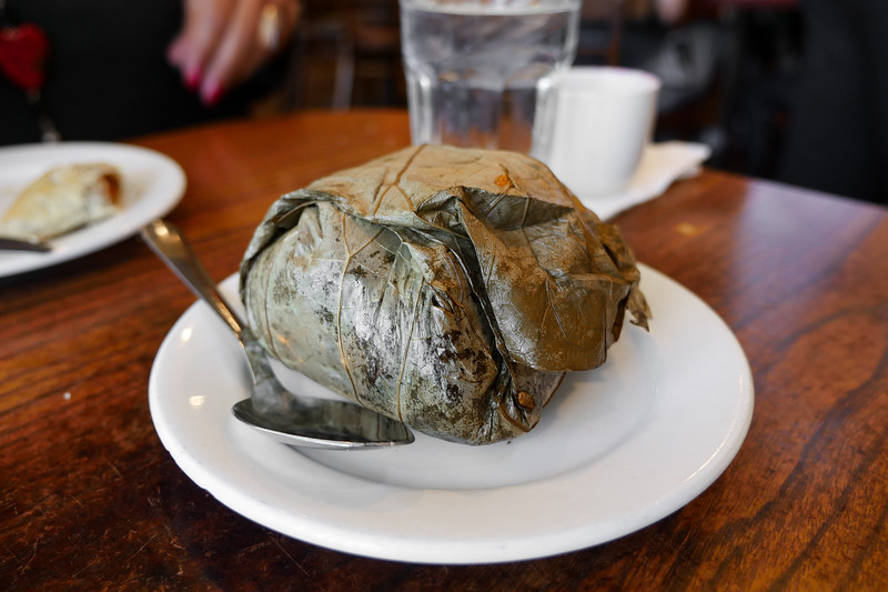 Sticky Rice wrapped in Lotus Leaves