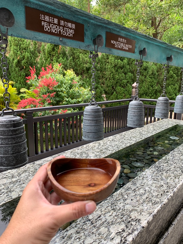 Water Blessing at Tze Shan Monastery 慈山寺