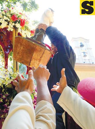 San Pedro Calungsod Arrival in Cebu