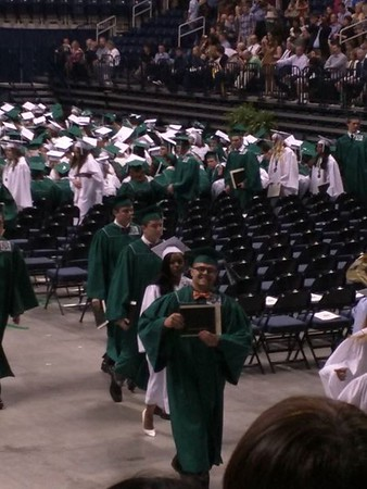 Dylan High School Graduation