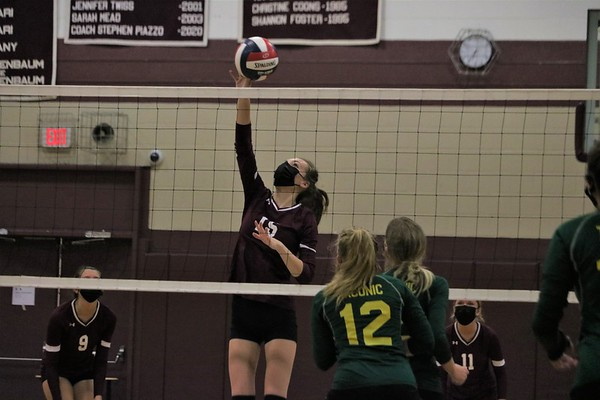 Monument Mountain vs. Taconic Volleyball - 090821