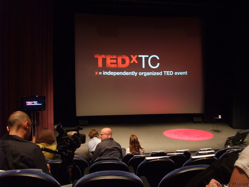 My view at TEDxTC