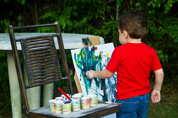 Painting Age 3