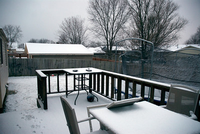 First snow of 2008