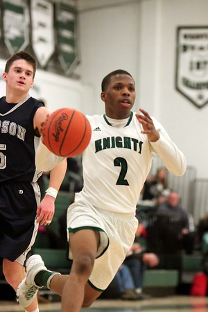 Mens Basketball - Hudson v Nordonia