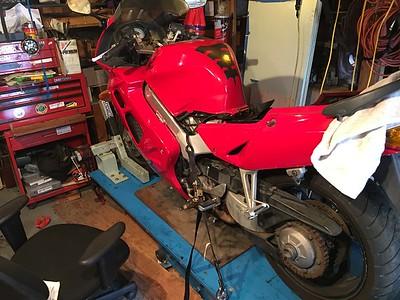 Dave 1998 Honda VFR 800