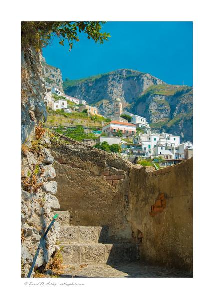 Conca dei Marini,Amalfi Coast, Italy