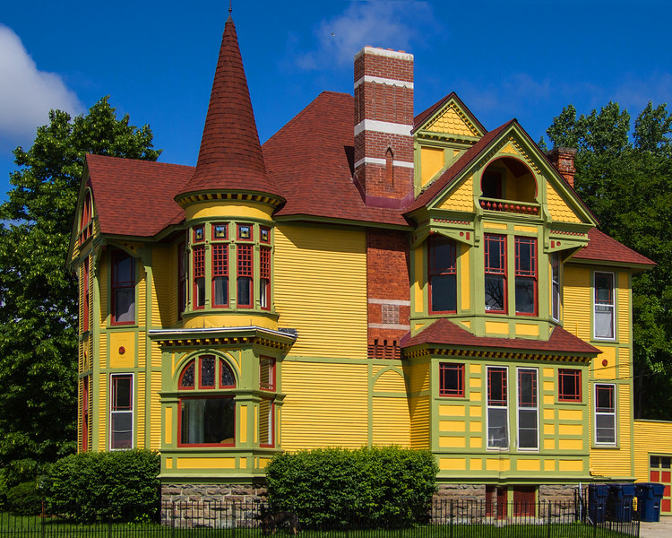 The Big Yellow House