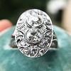 1.75ctw Edwardian Toi et Moi Old European Cut Diamond Ring  24