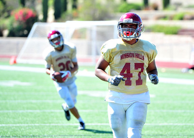 Cathedral Catholic Scrimmages