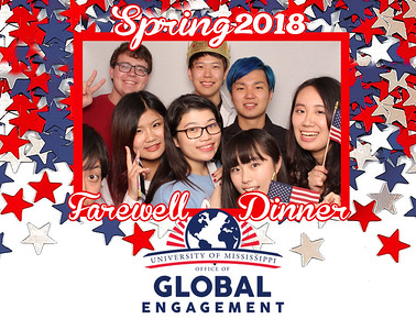 Study Abroad Farewell Dinner 2018