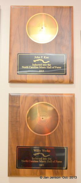 NC Music Hall of Fame