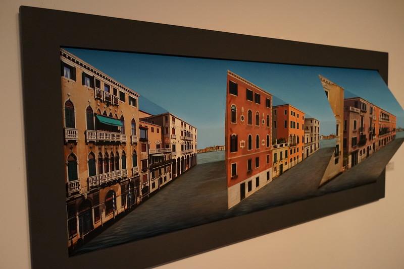 Venice in Peril, by Patrick Hughes