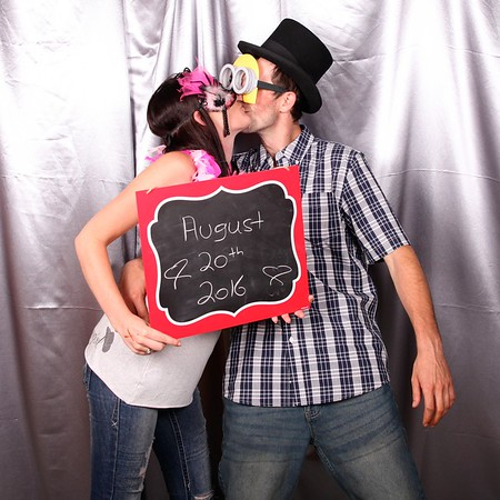 Dale & Kailly's Jack and Jill Photo Booth