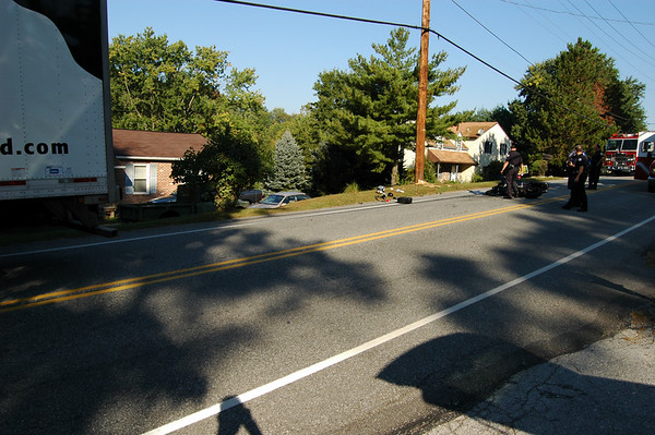 Fatal Motorcycle Wreck - Phoenixville Pike - West Chester, PA
