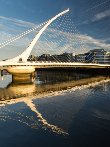 #SamuelBeckett Bridge