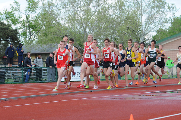 2013 Big Ten-TF Men 3K Steeple