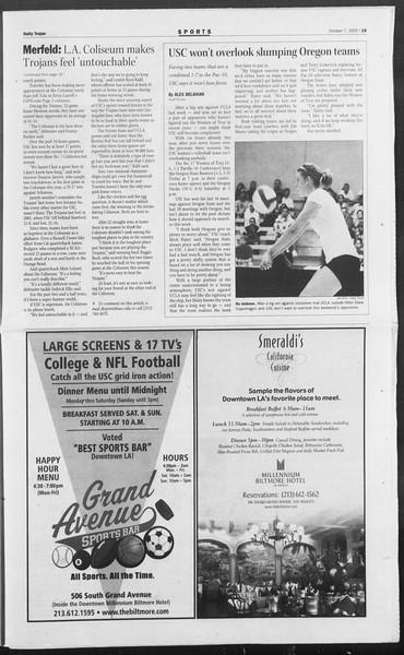 Daily Trojan, Vol. 156, No. 33, October 07, 2005