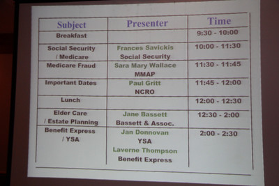 NCRO Medicare Meeting 2012 09 20