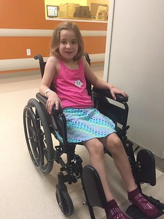 Emma June 22, 2017  8:45 am surgery
