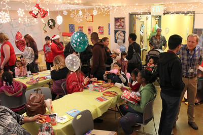Community Housing Partnership holiday celebration for families