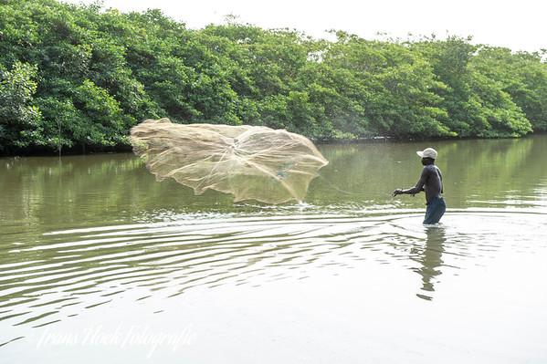 Casting net Fishing