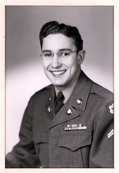 Cecil Ralph in Army Uniform