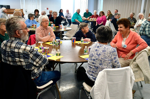 4/16/2019 Mike Orazzi | Staff Part of the audience during a celebration to honor the spirit of volunteerism characterized by the late Betty Boukus, long-time Plainville resident, advocate and public servant on Tuesday.