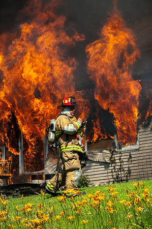 Structure Fire - 350 Hill Rd, Thomaston, CT - 7/12/14