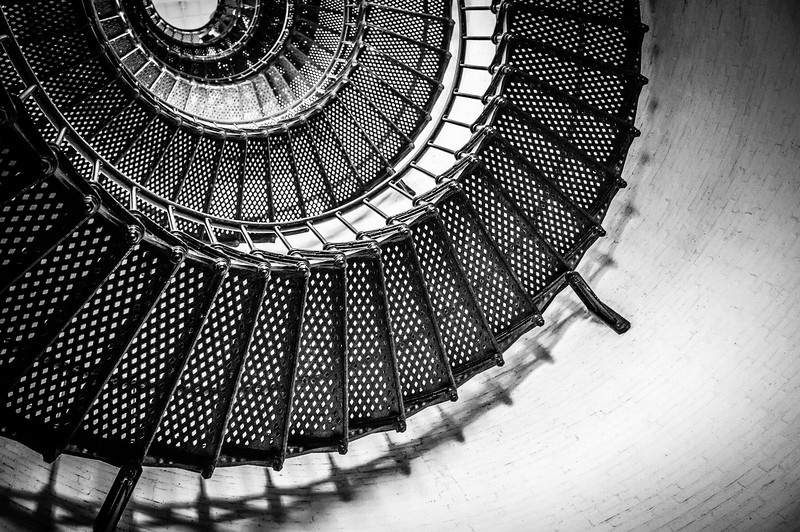 St. Augustine Lighthouse - Half Moon Stairs