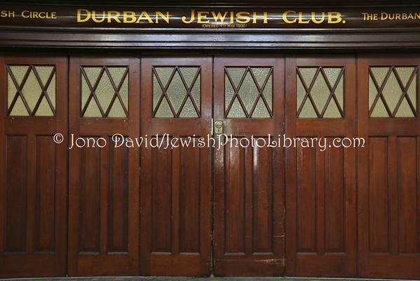 SOUTH AFRICA, KwaZulu-Natal, Durban. Durban Jewish Club (offices and social halls) (3.2013)