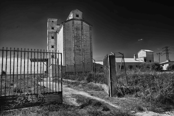 Silo abandonado / Abandoned silo