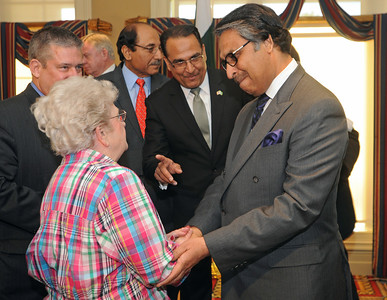 Pakistan ambassador welcomed