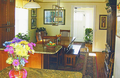 Another view of the dining area.