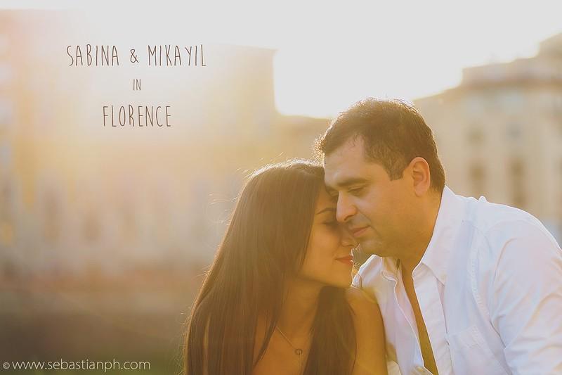 Fotografia di coppia a Firenze