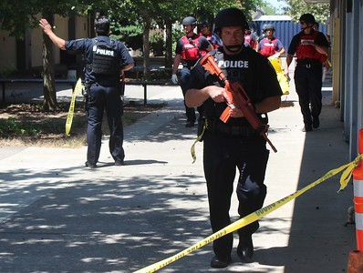 First responders get hands-on active shooter training