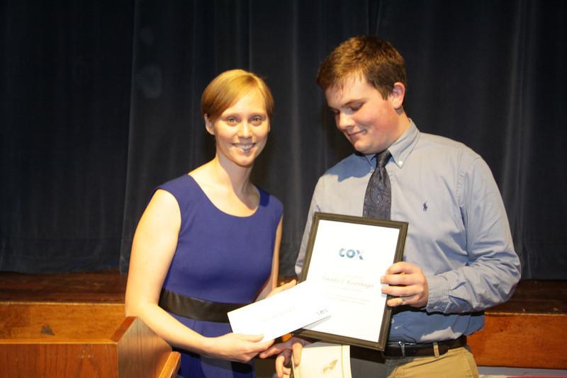 Awards Night 2012 - Cox Communication Scholarship