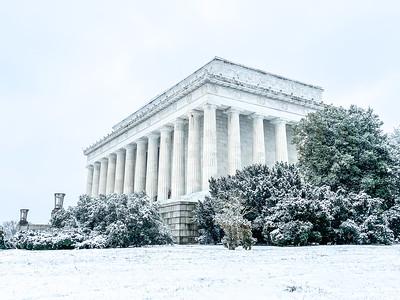 Washington DC Snow Day