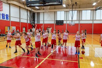 Girls 7th Grade Basketball - 10/30/2018 White Cloud